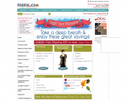 fabric.com Promo Coupon Codes and Printable Coupons