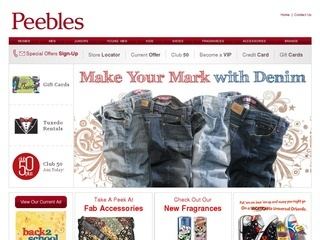 Peebles Promo Coupon Codes and Printable Coupons