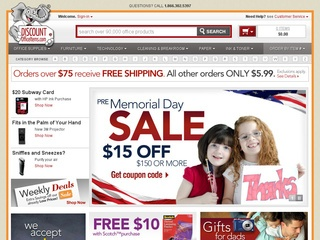 DiscountOfficeItems.com Promo Coupon Codes and Printable Coupons