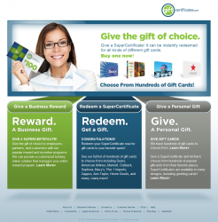 GiftCertificates.com Promo Coupon Codes and Printable Coupons