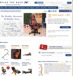 Relax The Back Promo Coupon Codes and Printable Coupons