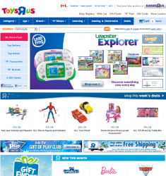 ToysRUs.ca Promo Coupon Codes and Printable Coupons
