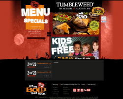 Tumbleweed coupons