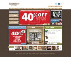 Aaron Brothers Promo Coupon Codes and Printable Coupons