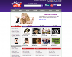 Alliance Tickets Promo Coupon Codes and Printable Coupons