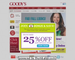 Goodys Promo Coupon Codes and Printable Coupons
