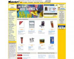 MisterArt.com Promo Coupon Codes and Printable Coupons