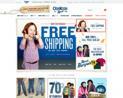 OshKosh B'gosh Promo Coupon Codes and Printable Coupons
