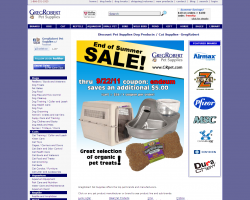 GregRobert Pet Supplies Promo Coupon Codes and Printable Coupons