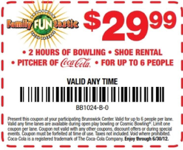 Offers Related To Brunswick Zone Coupons